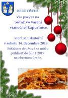 Súťaž vo varení vianočnej kapustnice 1